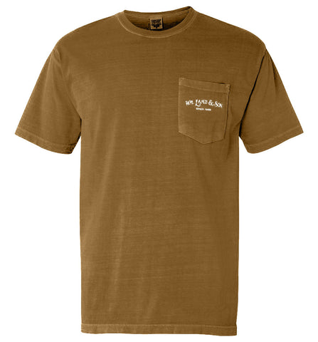 The English Pointer Tee (Brown) - A Dog's Life Collection