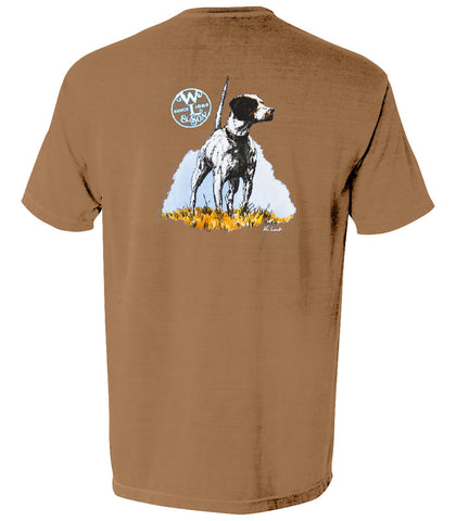 The English Pointer Tee (Brown)