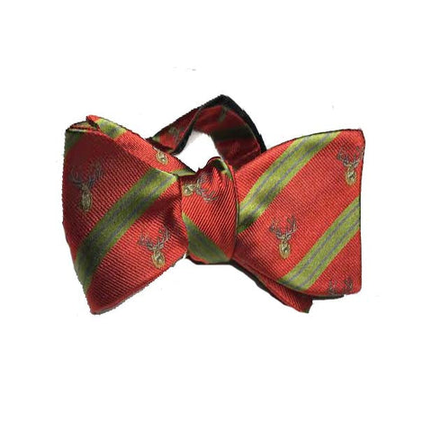 Bow Tie - Mooreland Stag Bow (Red)