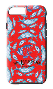 iPhone Case - Red Tarpon Toile