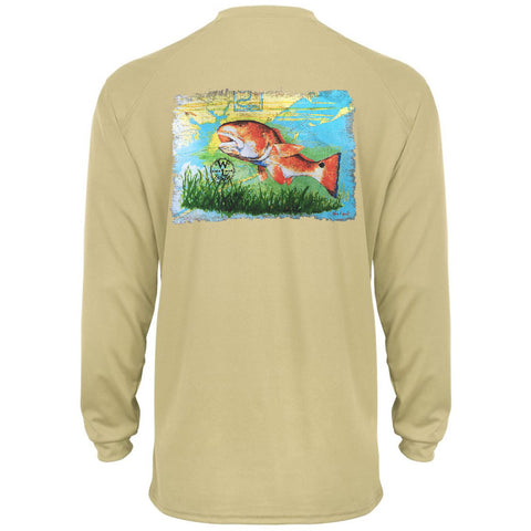 Performance Tee - Redfish on Sand
