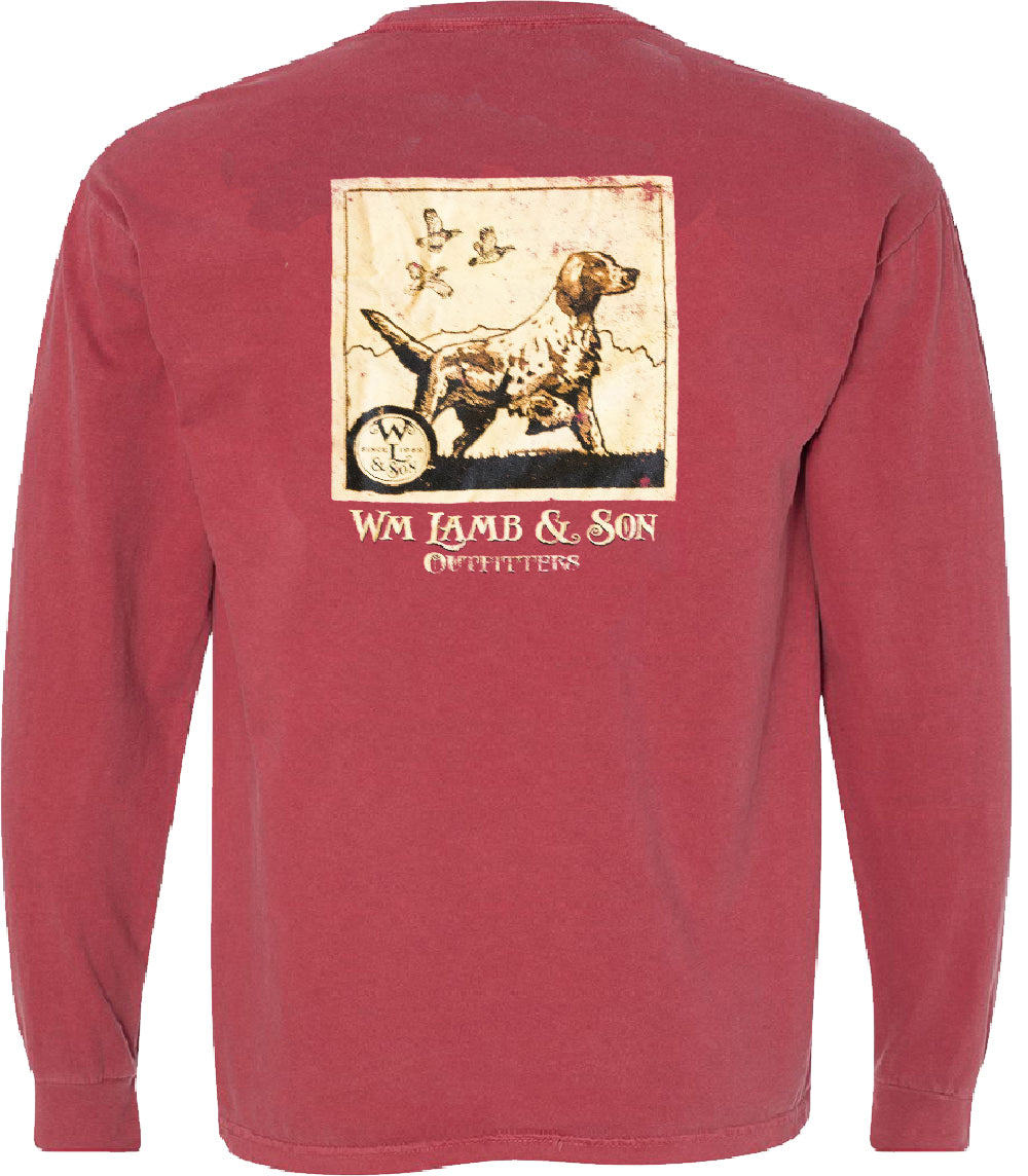 The English Setter Long Sleeve Tee