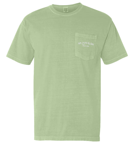 The Shuck It Tee II (Celery) - The Coastal Collection