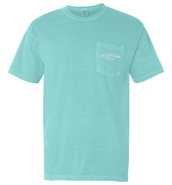 The Shuck It Tee II (Chalky Mint)