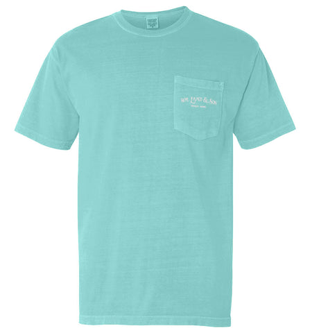 The Shuck It Tee II (Chalky Mint) - The Coastal Collection
