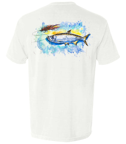 The Tarpon & Fly Tee - The Coastal Collection