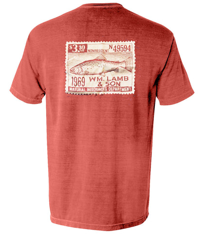 The Trout Stamp Tee - The Trout Collection