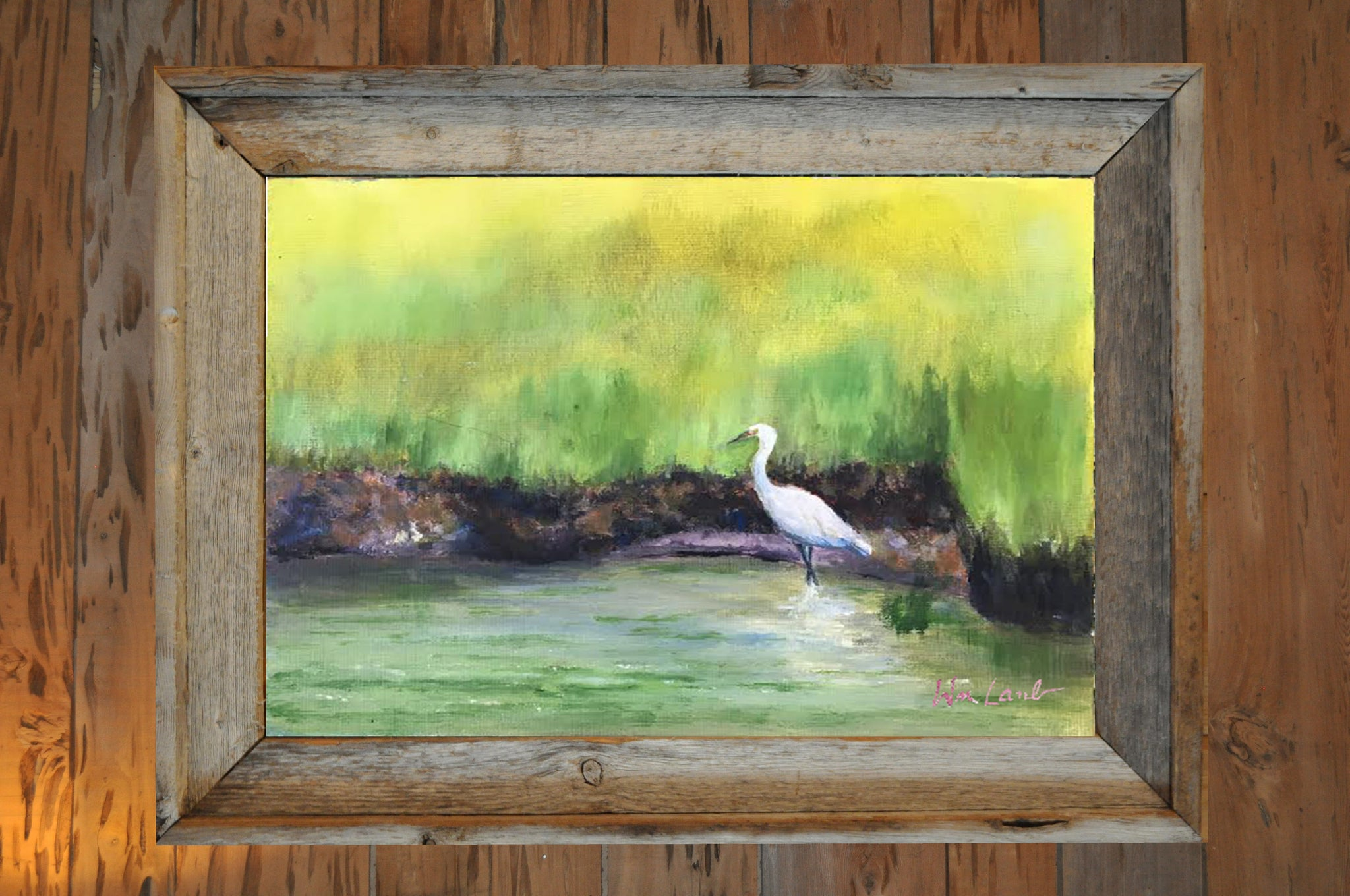Original - Marsh Egret