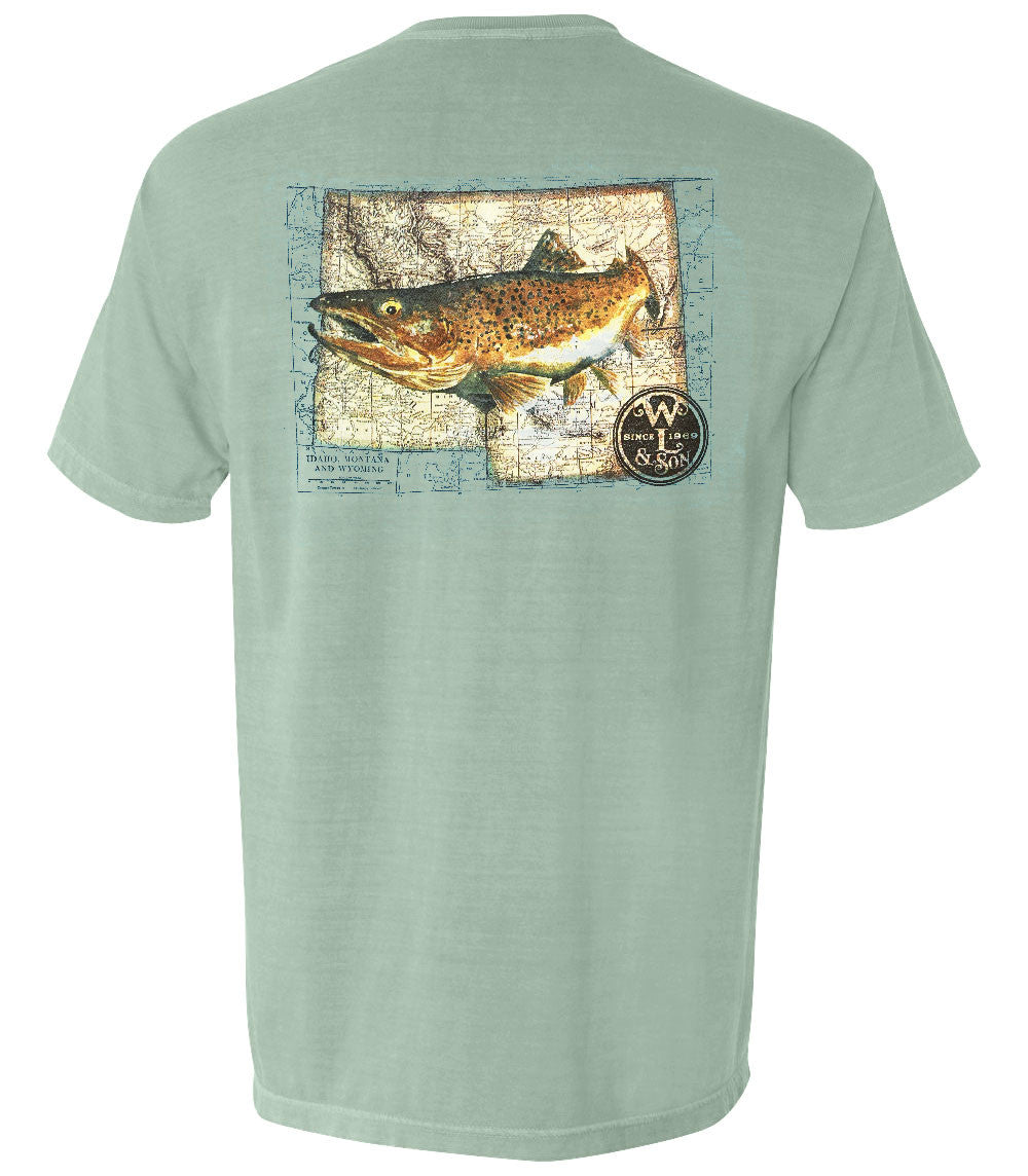 The Western Trout Tee (Bay)