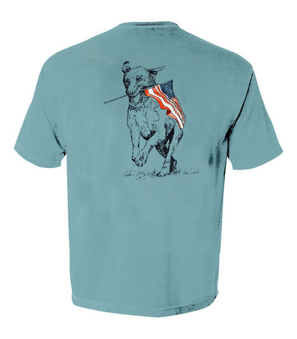 Youth Tees - Patriotic Dog