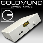 Goldmund Telos Headphone Amplifier