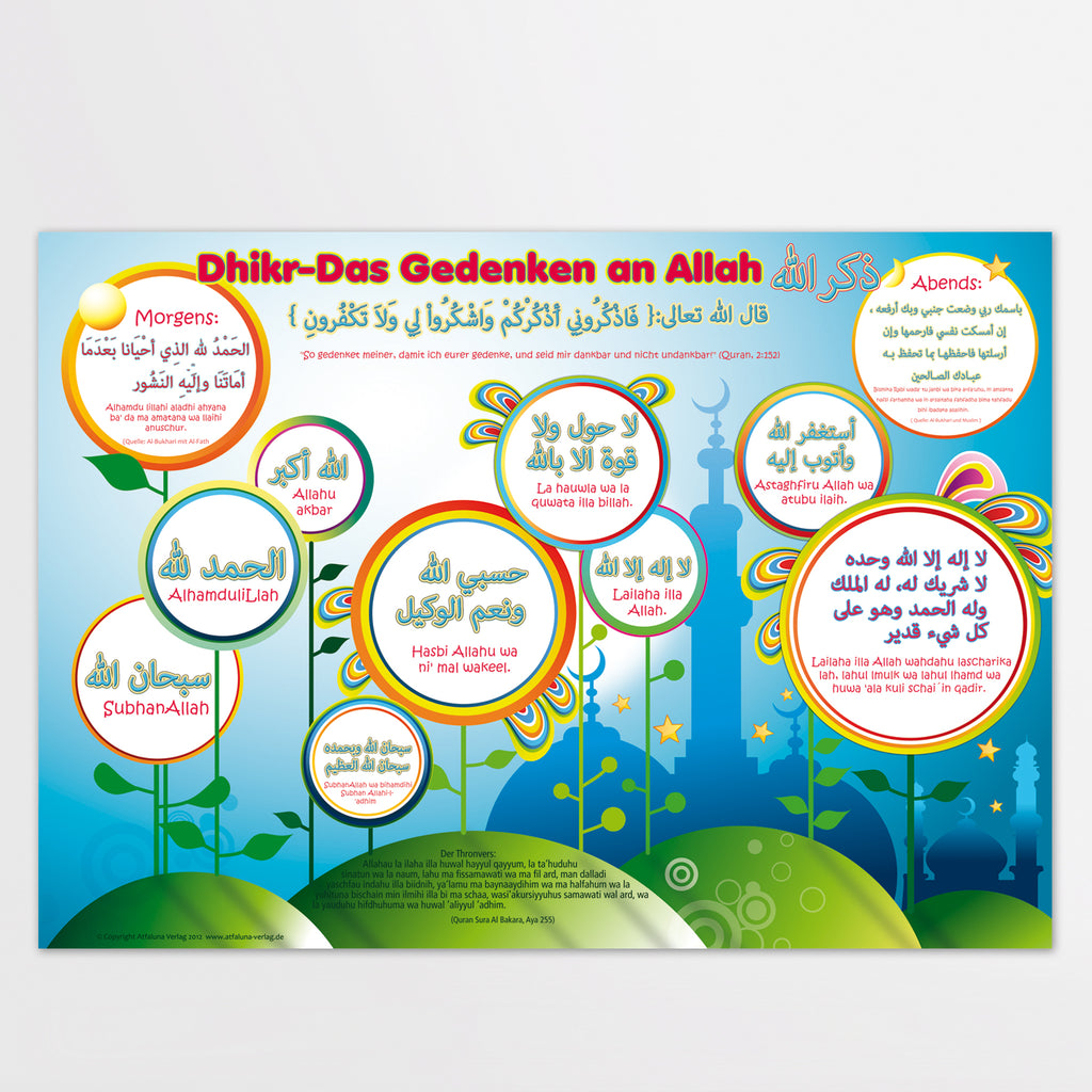 Poster XL Dhikr