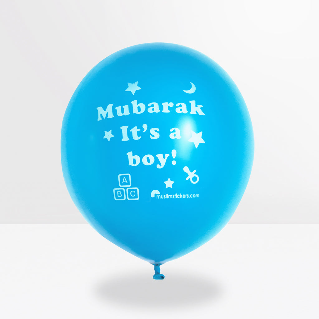 Mubarak it´ a boy Luftballon