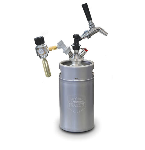 Complete Mini Keg Dispensing Kit - 3 L