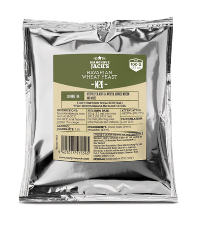 Mangrove Jack's M20 Bavarian Wheat Yeast - (3.5 oz) 100g