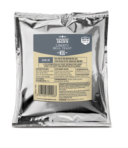 M36 100 g (3.5 oz) Liberty Bell Yeast
