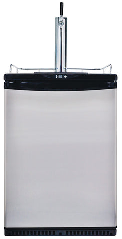 1 Tap Kegerator with D Coupler