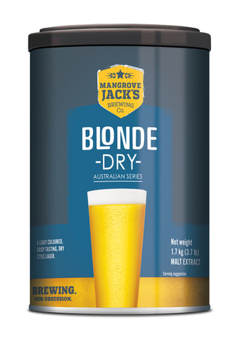 Australian Classic Blonde Dry Beer Can