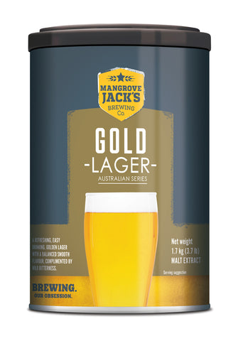Australian Classic Gold Lager Beer Can