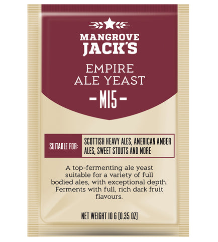 Mangrove Jack's M15 Empire Ale Yeast - 10g