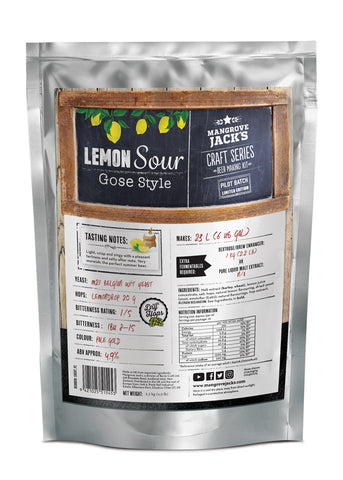 Lemon Sour Gose - Limited Edition