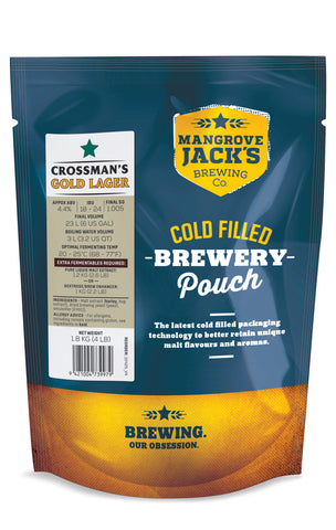 Traditional Series Crossman's Gold Lager