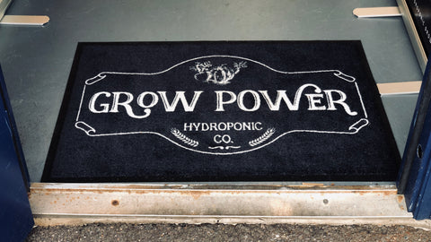 Grow Power Welcome Mat