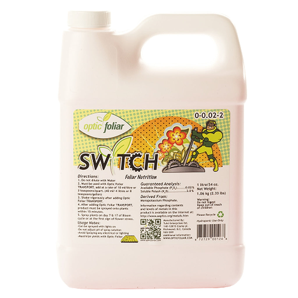 Optic Foliar Switch - Grow Power Hydroponics