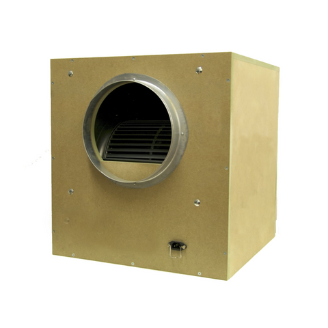 "Acoustic Box Fan 8"" / 200mm - Grow Power Hydroponics"