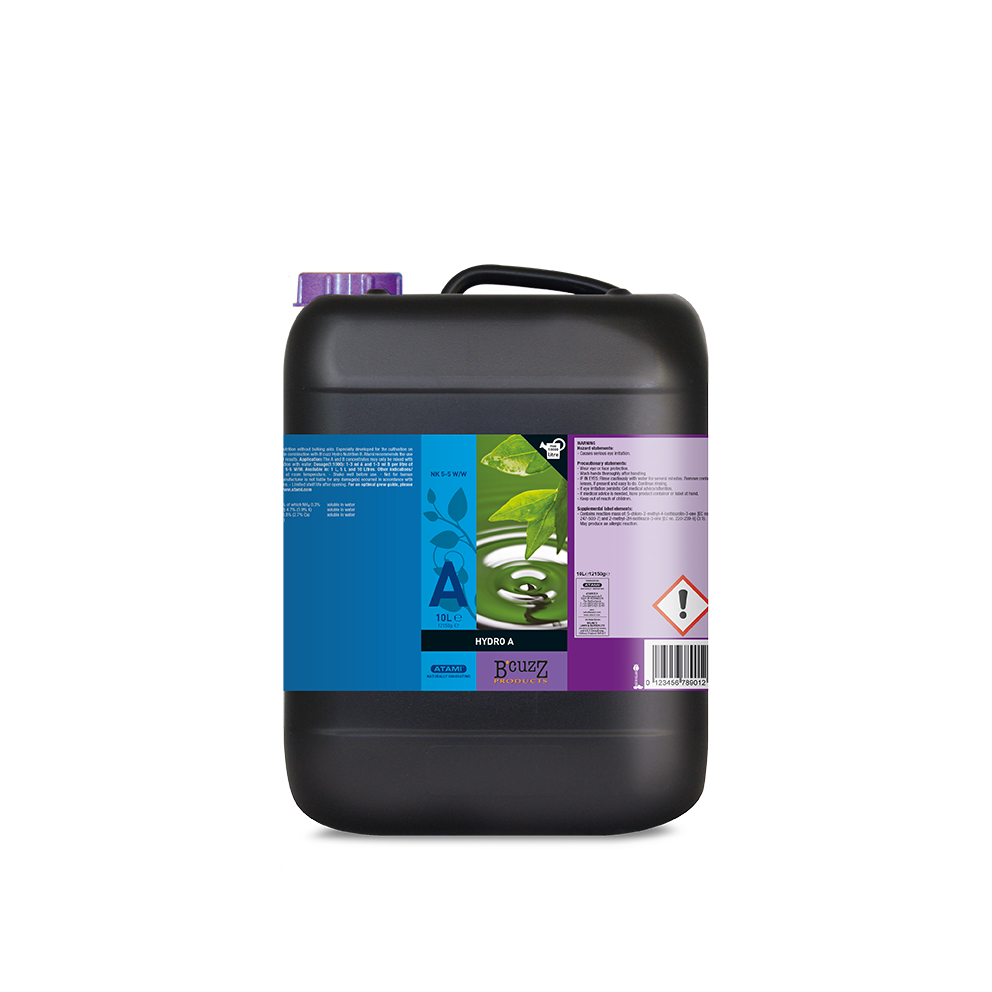 Atami B'cuzz Hydro A-B Nutrition - Grow Power Hydroponics