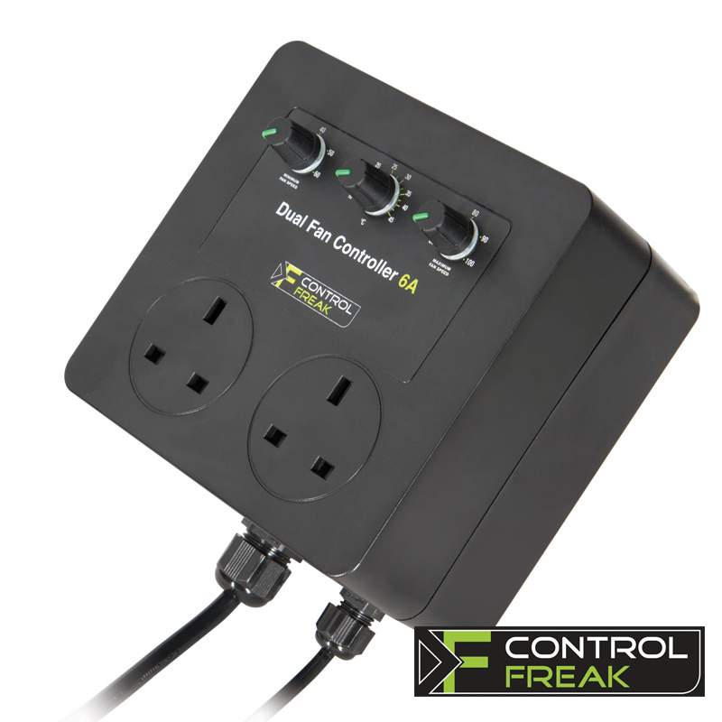 Control Freak 6A Dual Fan Controller - Grow Power Hydroponics