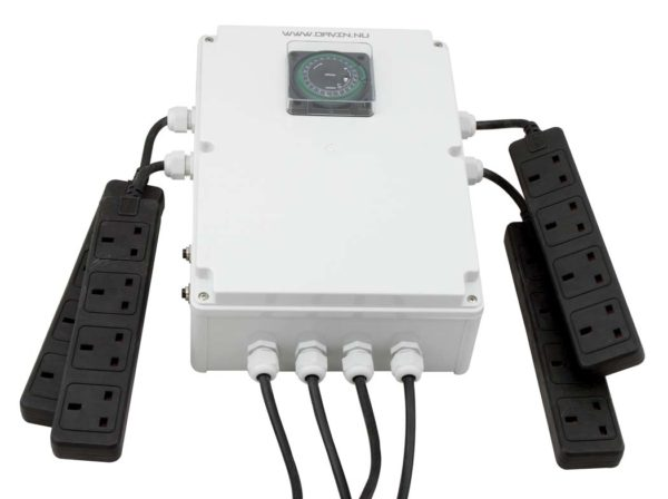Davin DV44 16x600w Switch Box - Grow Power Hydroponics