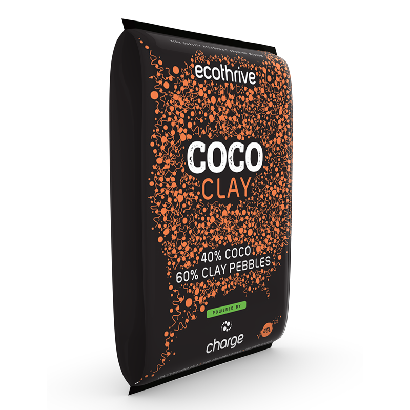 Ecothrive 40:60 Coco Clay Mix 45L - Grow Power Hydroponics