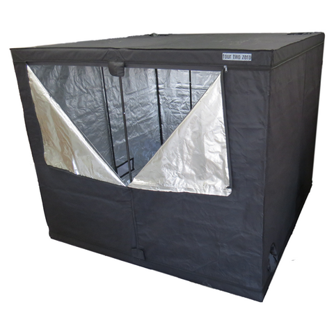 Four Two Zero, 2.0m x 2.0m x 2.0m, Budget Grow Tent - Grow Power Hydroponics