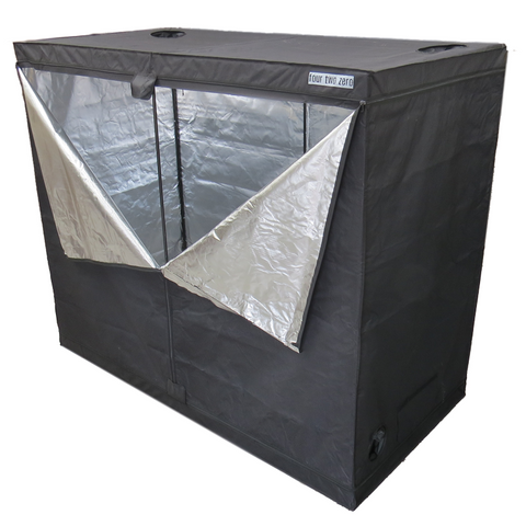 Four Two Zero, 3.0m x 1.5m x 2.0m, Budget Grow Tent - Grow Power Hydroponics