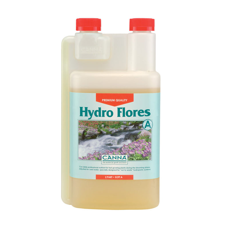 Canna Hydro Flores Hard Water Set (A+B) - Grow Power Hydroponics