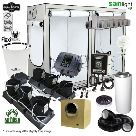 Complete Grow Room Kit - Only The Best (OTB) - Medium - 4 - 8 Plants - Grow Power Hydroponics