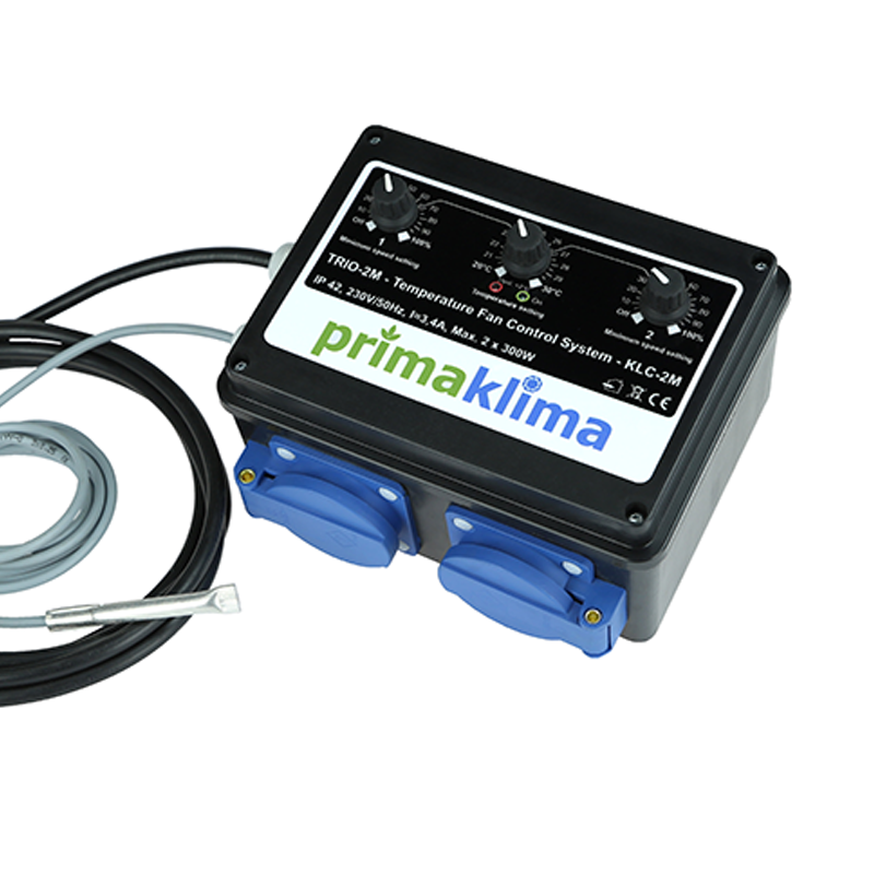 Prima Klima Temperature Controller 2 x 300w - Grow Power Hydroponics