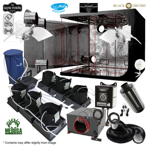 Complete Grow Room Kit - The Hobbyist Choice (THC) - Large - 8 - 16 Plants - Grow Power Hydroponics
