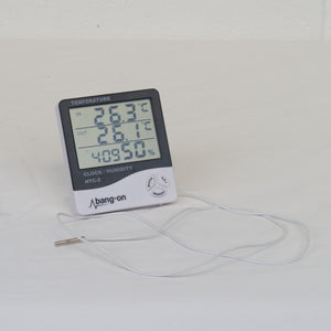 Hygrometer (Digital) with Probe - Grow Power Hydroponics