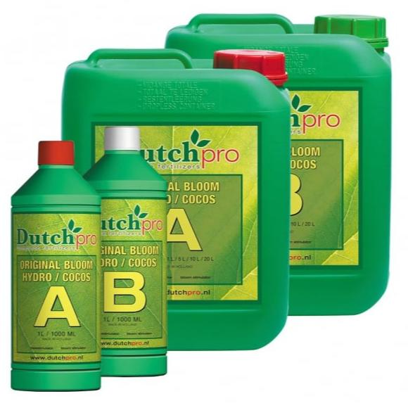 Dutch Pro Hydro/Coco A+B Bloom Hard Water - Grow Power Hydroponics