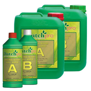 Dutch Pro Soil Bloom A-B Hard Water - Grow Power Hydroponics