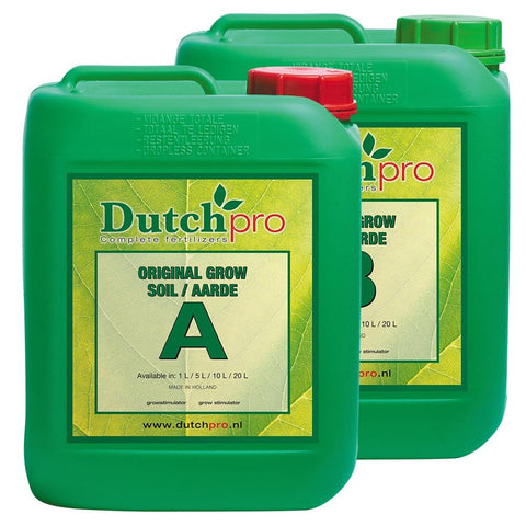 DutchPro Original Grow Soil A+B - Grow Power Hydroponics