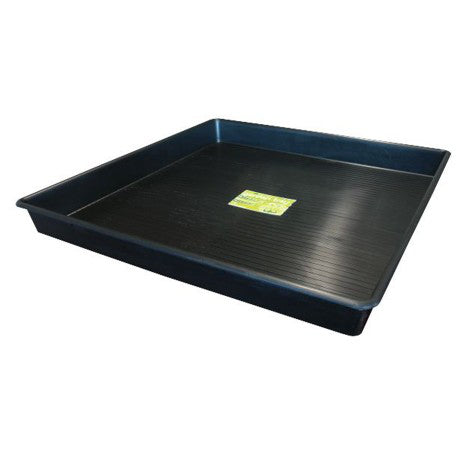Large Square Plastic Garden Tray - Virtually Unbreakable - 2 Sizes - Grow Power Hydroponics