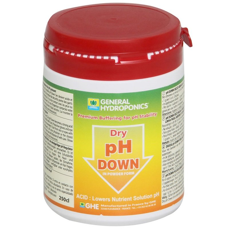 GHE pH Down Dry - Grow Power Hydroponics