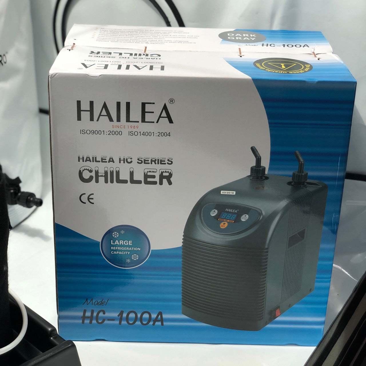 Hailea HC100A/300A/1000A Nutrient Chillers - Grow Power Hydroponics