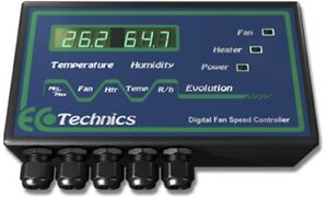 EcoTechnics Evolution Digital Fan Speed Controller - Grow Power Hydroponics