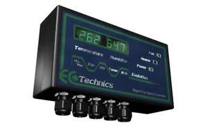 EcoTechnics Evolution CO² Controller only (Digital) - Grow Power Hydroponics