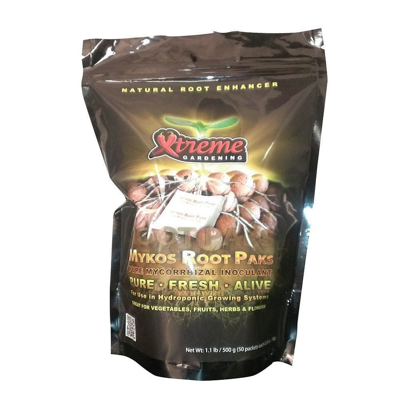 Xtreme Gardening - Mykos Roots Paks - Grow Power Hydroponics