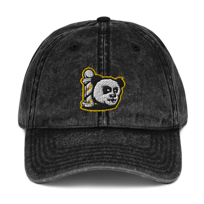 The Barbershop Bumble Bee Vintage Cotton Twill Cap